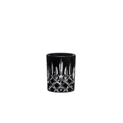 RIEDEL Glas Tumbler-Glas Laudon Schwarz, Kristallglas