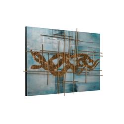KUNSTLOFT Gemälde Göttliche Offenbarung, handgemaltes Bild auf Leinwand