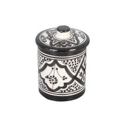 Casa Moro Zuckerdose Handbemalte Keramik Zuckerdose, KSF048, Keramik, (0-tlg)