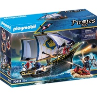 Playmobil Pirates Rotrocksegler