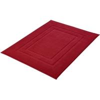 Kleine Wolke Plaza Badteppich 60 mm, beidseitig nutzbar, verwendbar rot 20x20x5 cm