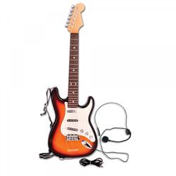Bontempi E-Gitarre mit Mikrofon und MP3-Eingang