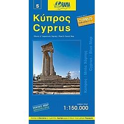 Cyprus Blue Map 1 : 150 000 - Buch