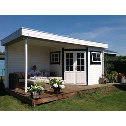 5-Eck Garten- und Gerätehaus Liv, ohne Imprägnierung