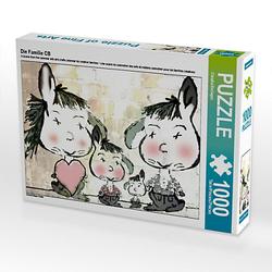 Die Familie CB Lege-Größe 64 x 48 cm Foto-Puzzle Bild von Digital-Art Puzzle
