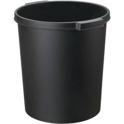 Papierkorb 15l schwarz