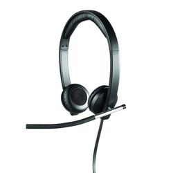 Logitech H650e USB Headset professionelles Headset schwarz