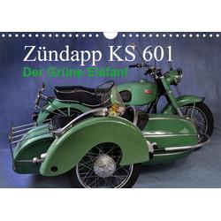 Zündapp KS 601 (Wandkalender 2021 DIN A4 quer)