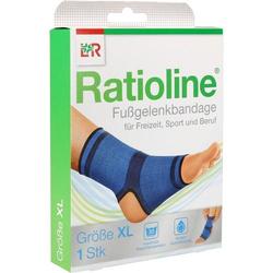 RATIOLINE active Fußgelenkbandage Gr.XL 1 St