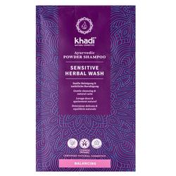 Khadi Ayurvedic Powder Shampoo Sensitive Herbal Wash 50 ml