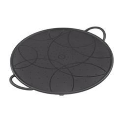 KUHN RIKON Spritzschutz Silikon 26 cm schwarz Spritzschutzdeckel