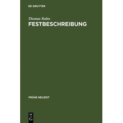 Festbeschreibung als Buch von Thomas Rahn