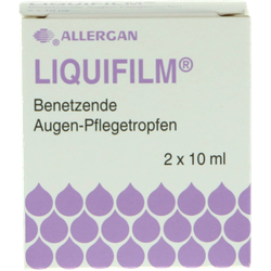 LIQUIFILM Benetzende Augen Pflegetropfen 2X10 ml