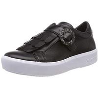 BUGATTI Slip-On Sneaker mit Raffungen und Genial-Light-Funktion schwarz 36
