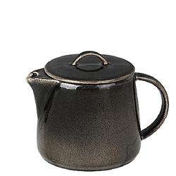 Broste Copenhagen Teekanne Nordic Coal Steingut 100 cl