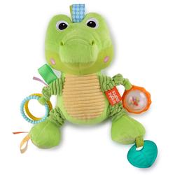 Bright Starts Greifspielzeug Bunch-O-Fun - Krokodil grün Kinder Ab 3 Monaten Altersempfehlung