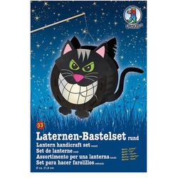 URSUS Laterne Laternen Bastelset Katze ca. 27,5 x 21cm