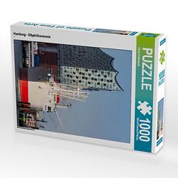 Hamburg - Elbphilharmonie Lege-Größe 48 x 64 cm Foto-Puzzle Bild von Klaus Kolfenbach Puzzle