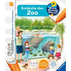 tiptoi® Entdecke den Zoo als Buch von Inka Friese