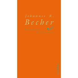 Hundert Gedichte als Buch von Johannes R. Becher