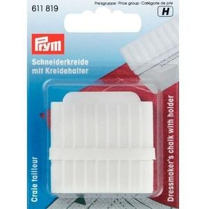 Prym Schneiderpuppe Kreiden, Stone, weiß, 9,3x 5,7x 0,7cm