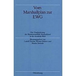 Vom Marshallplan zur EWG - Buch