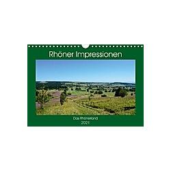 Rhöner Impressionen (Wandkalender 2021 DIN A4 quer)