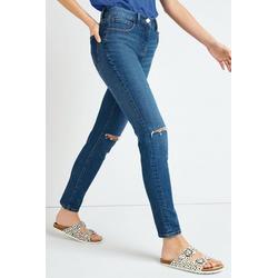 Next Slim-fit-Jeans Zigaretten-Jeans blau 27,5 - 31