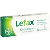 BAYER Lefax Kautabletten