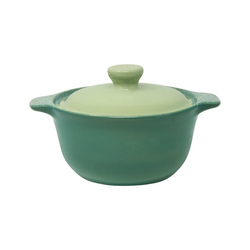 WALD Kochtopf Keramik-Kochtopf klein, grün