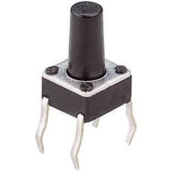 Weltron T604 Drucktaster 24 V/DC 0.05A 1 x Aus/(Ein) tastend