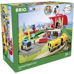Brio Großes City Bahnhof Set