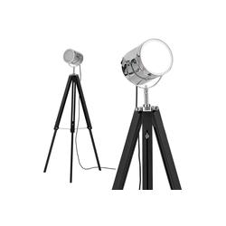 lux.pro Stehlampe, Tripod Studio-Scheinwerfer Industrial Design Höhe 140cm
