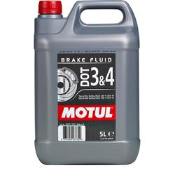 MOTUL DOT 3 & 4 Rem vloeistof 5 Liter