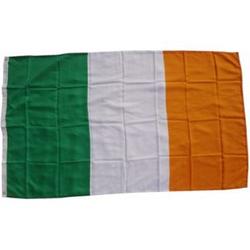 XXL Flagge Irland 250 x 150 cm Fahne mit 3 Ösen 100g/m² Stoffgewicht