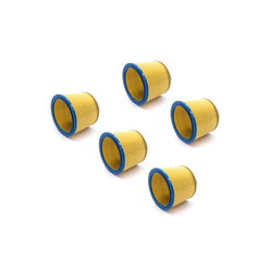 AccuCell Staubsaugerrohr 5x Staubsaugerfilter für Staubsauger wie Kärcher 6