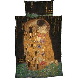Bettwäsche Kuss, Goebel, mit Klimt Gemälde 1 St. x 135 cm x 200 cm