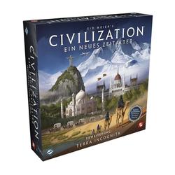 Asmodee Spiel, Civilization Ein neues Zeitalter -Terra Incognita Brettspiel Neu
