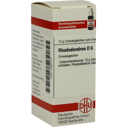 RHODODENDRON D 6 Globuli