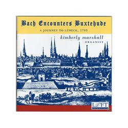 Kimberly Marshall - Bach Encounters Buxtehude (CD)