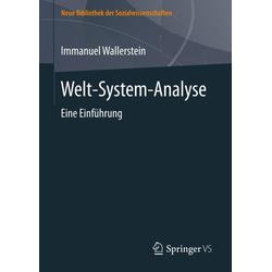 Welt-System-Analyse als Buch von Immanuel Wallerstein