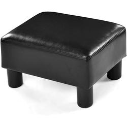 COSTWAY Sitzhocker Sitzhocker PU 40 x 30 x 24cm