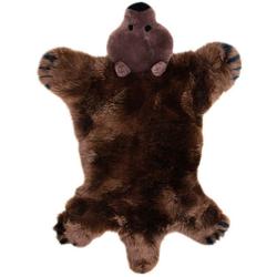 Fellteppich, Spielteppich Bär, Heitmann Felle, tierfellförmig, Höhe 40 mm, gegerbt braun Kinder Kinderzimmerteppiche Teppiche nach Räumen