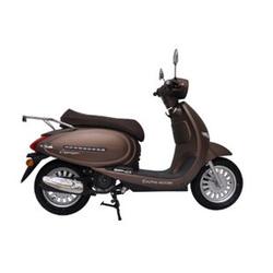Alpha Motors Motorroller Cappucino 125 ccm 80 kmh braun