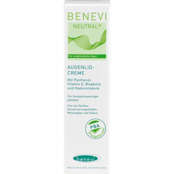 BENEVI Neutral Augenlid-Creme 15 ml