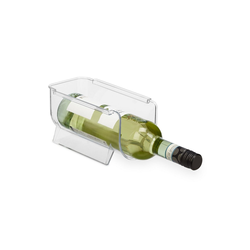 relaxdays Flaschenhalter Kühlschrank Flaschenablage stapelbar