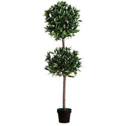 Paperflow Künstliche Pflanze Le Laurel Grün 250 x 250 x 1.650 mm