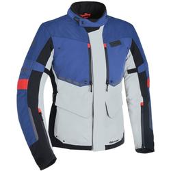 Oxford Mondial Motorrad Textiljacke, rot-blau, Größe 2XL