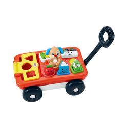 Mattel® Steckspielzeug Fisher-Price Lernspaß Bollerwagen (D)