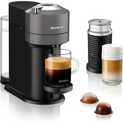 Nespresso Kapselmaschine ENV 120.GYAE Vertuo Next inkl. Aeroccino Milchaufschäumer, grau
